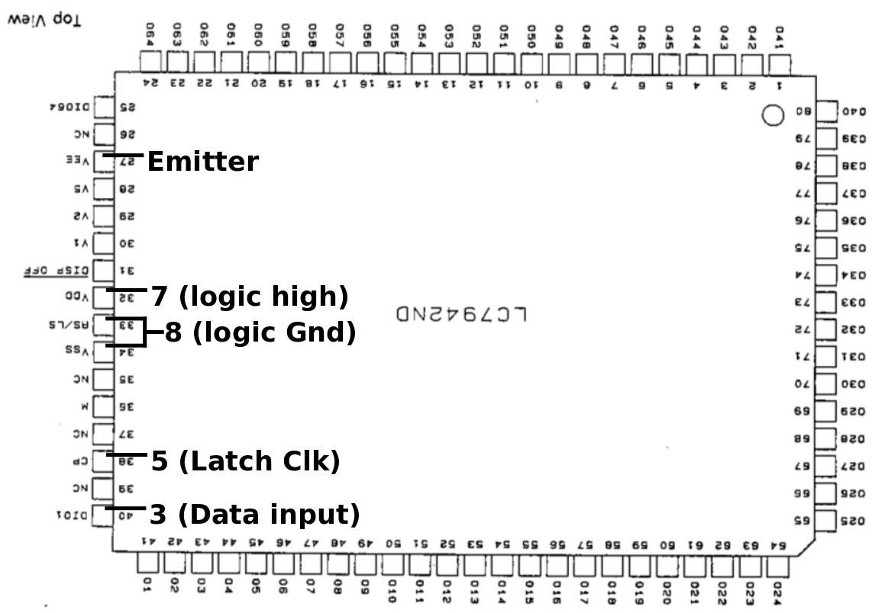 Reverse Engineering an LCD dot-matrix display